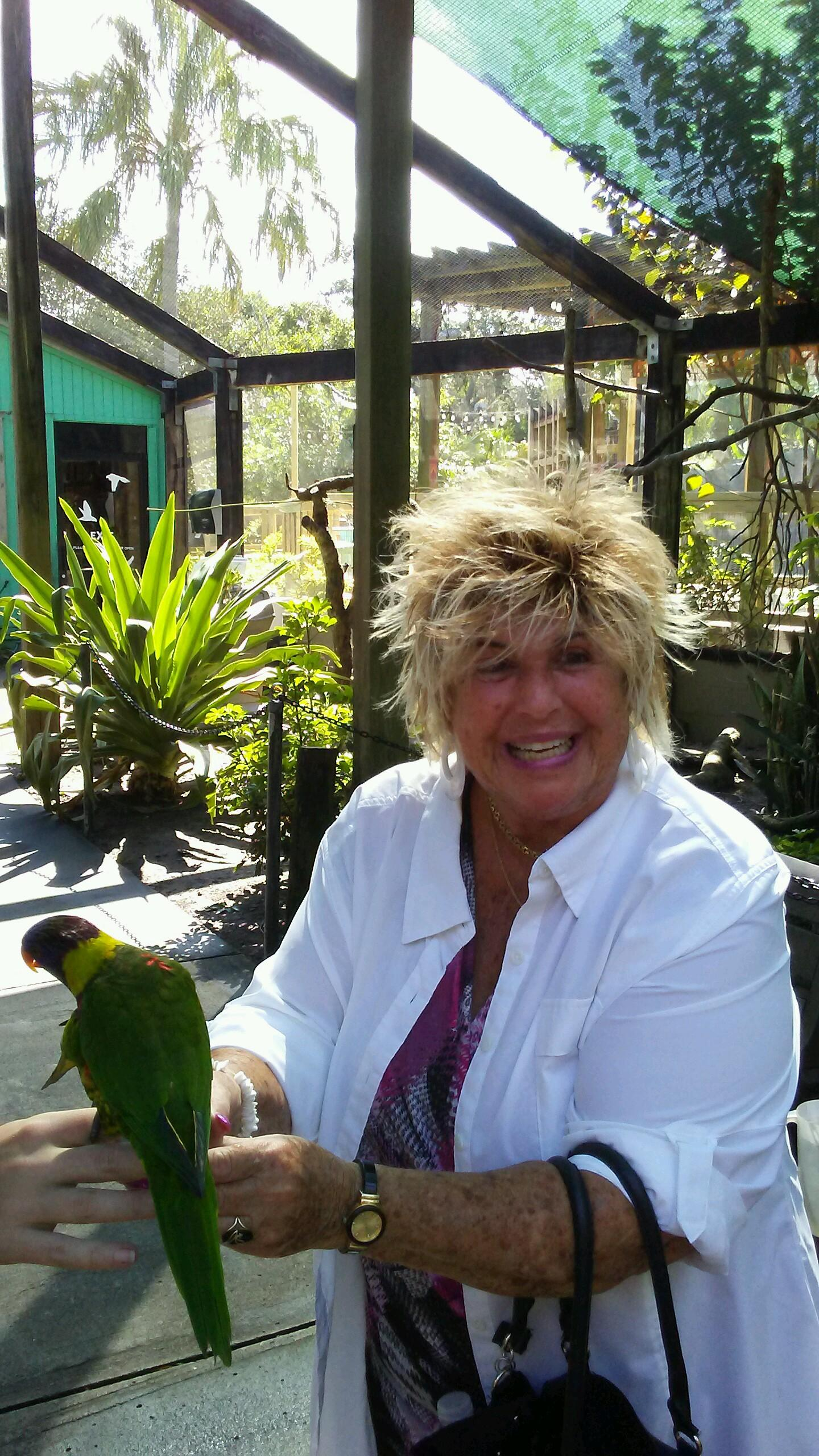 Marti Wilson and parrot.jpg