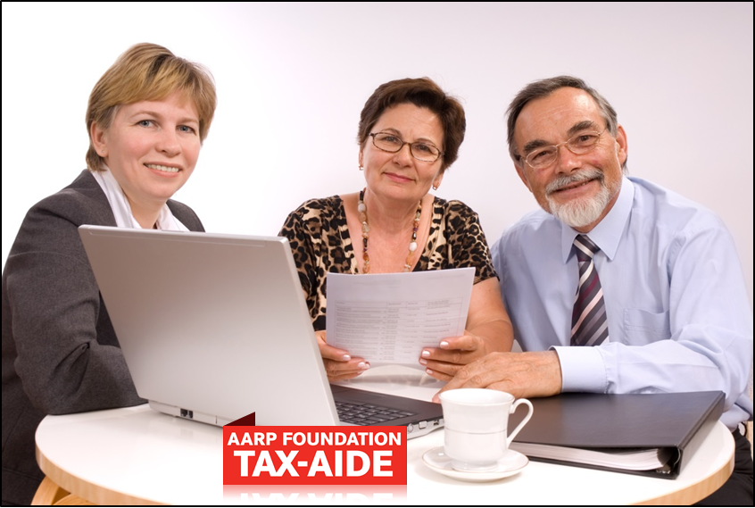 AARP FOUNDATION NOW RECRUITING VOLUNTEERS FOR TAX-AIDE