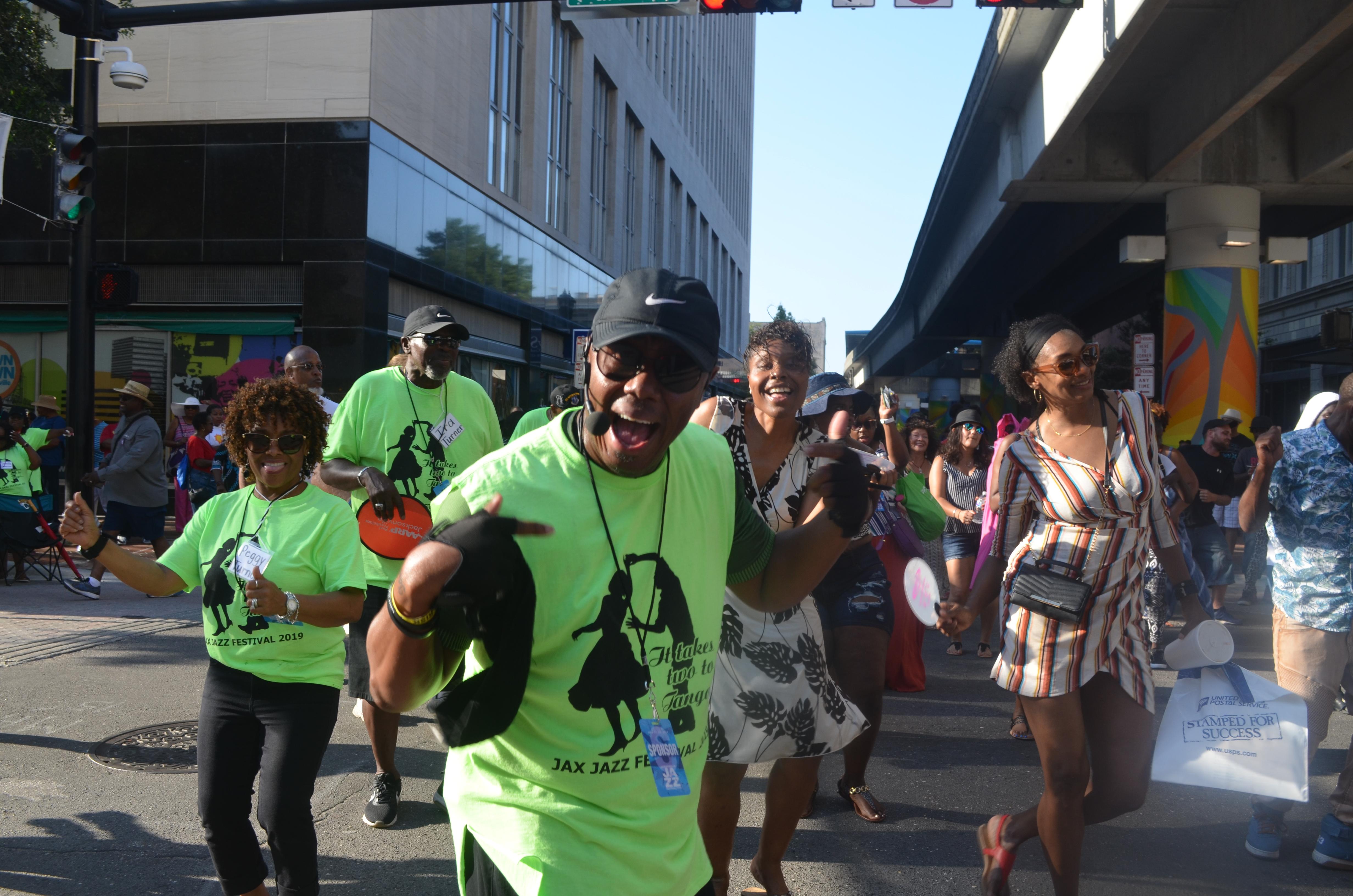 AARP volunteers rock Jacksonville Jazz Festival during Memorial Day 2019