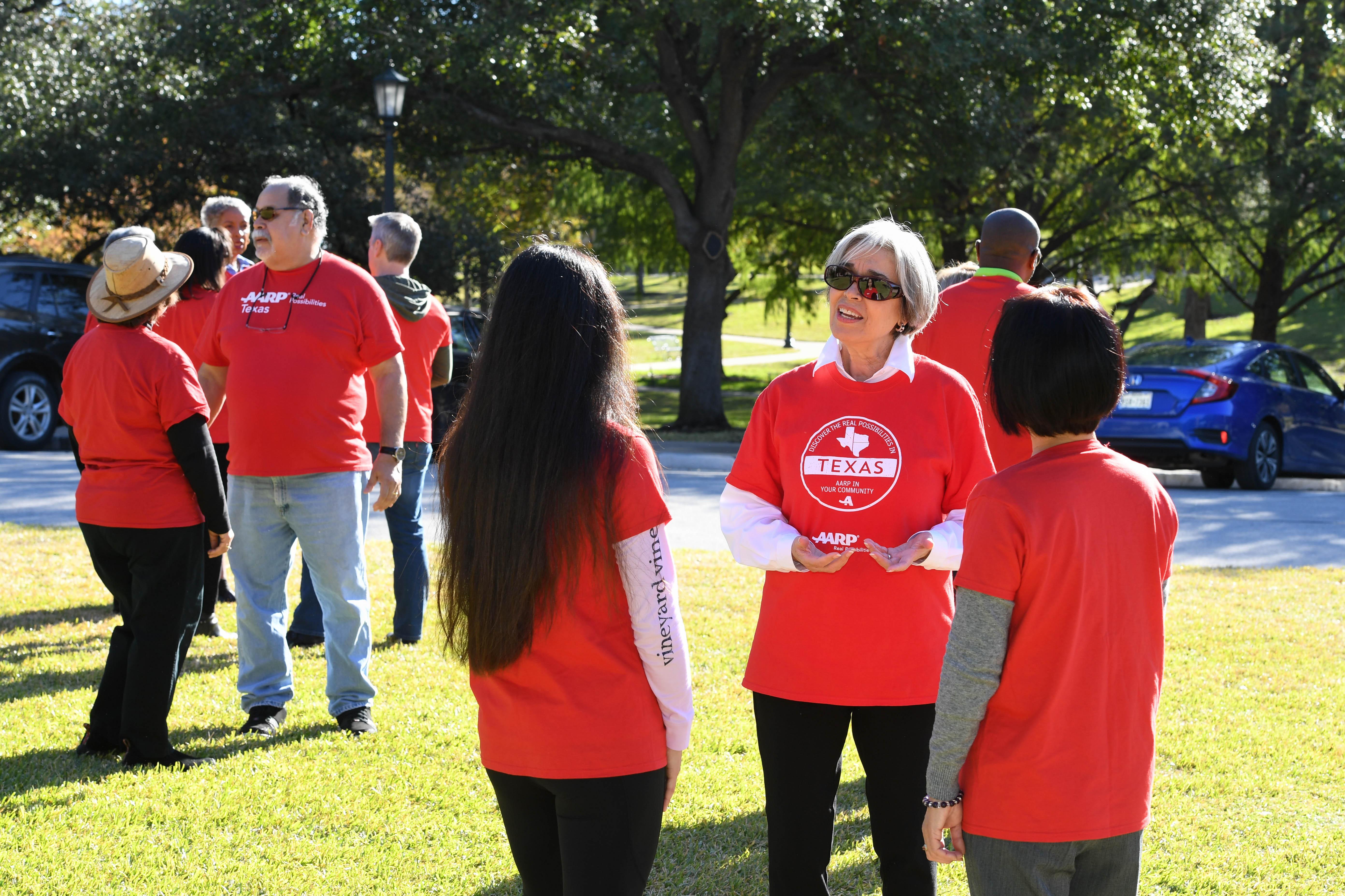 Join the AARP Dallas-Fort Worth Volunteer Team