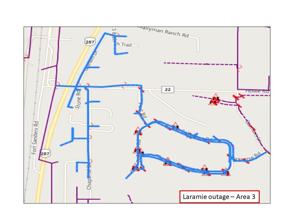 Laramie Outage 4 - Rocky Mountain Power