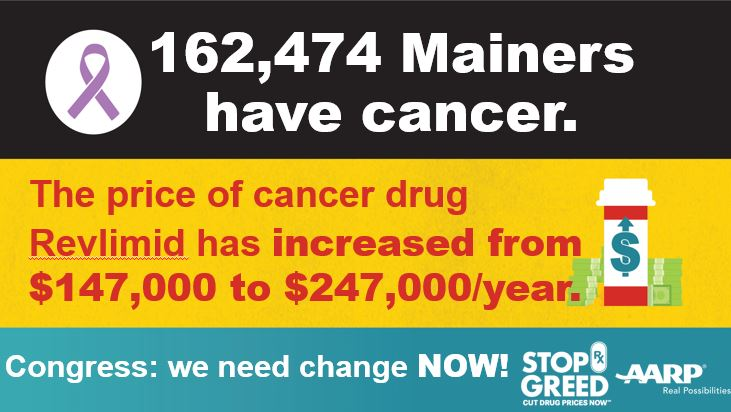 New Data and Infographic Shows Impact of Skyrocketing Drug Prices on Mainers