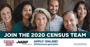 Looking for a job? Why not join the 2020 Census team?