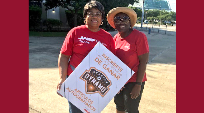 Catch AARP at the Houston Dynamo Games