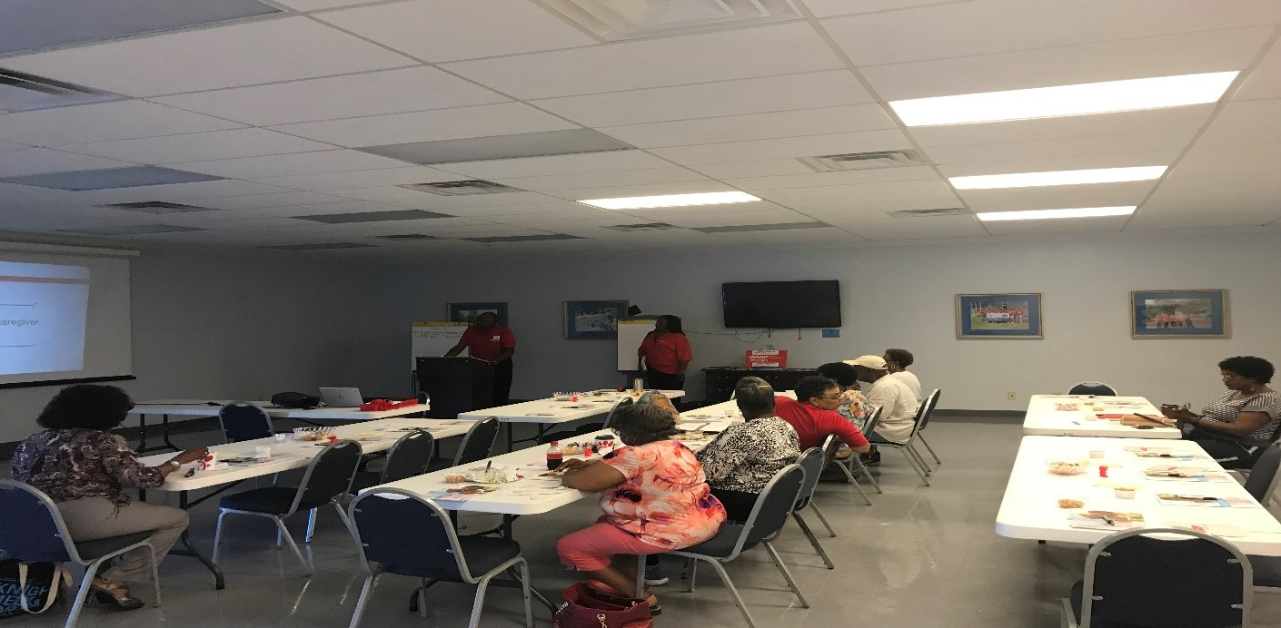 Macon-Bibb Volunteers Learn Skills to Help Others