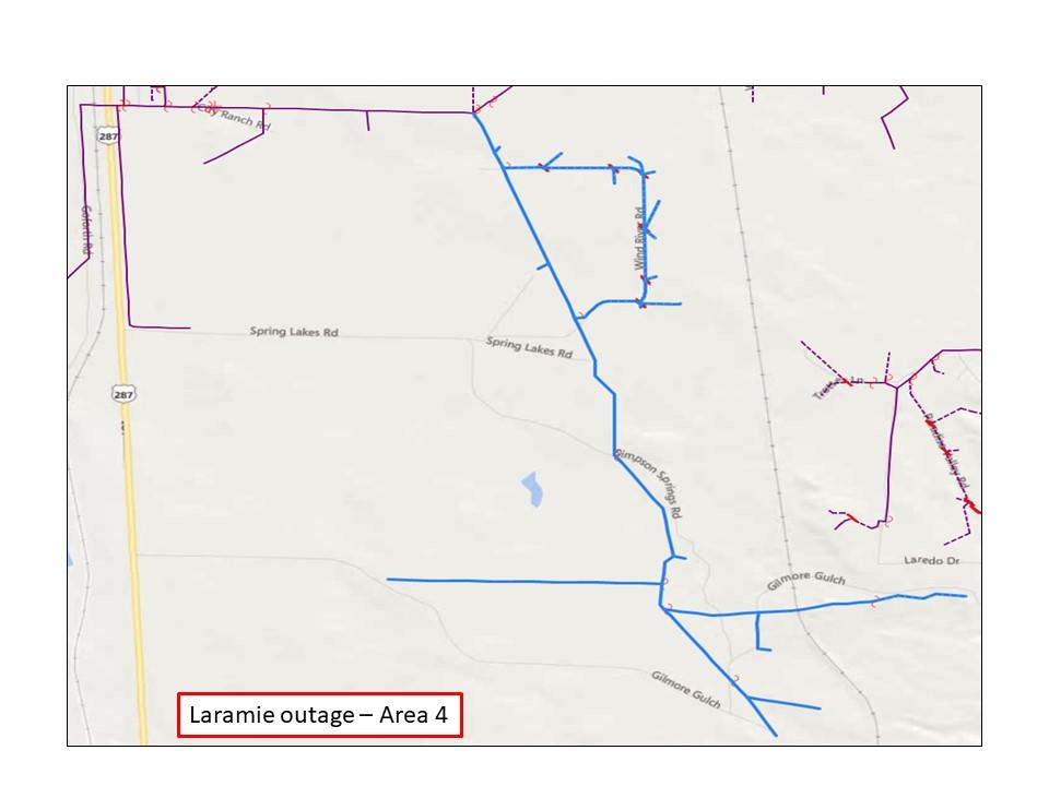 Laramie Outage 5 - Rocky Mountain Power