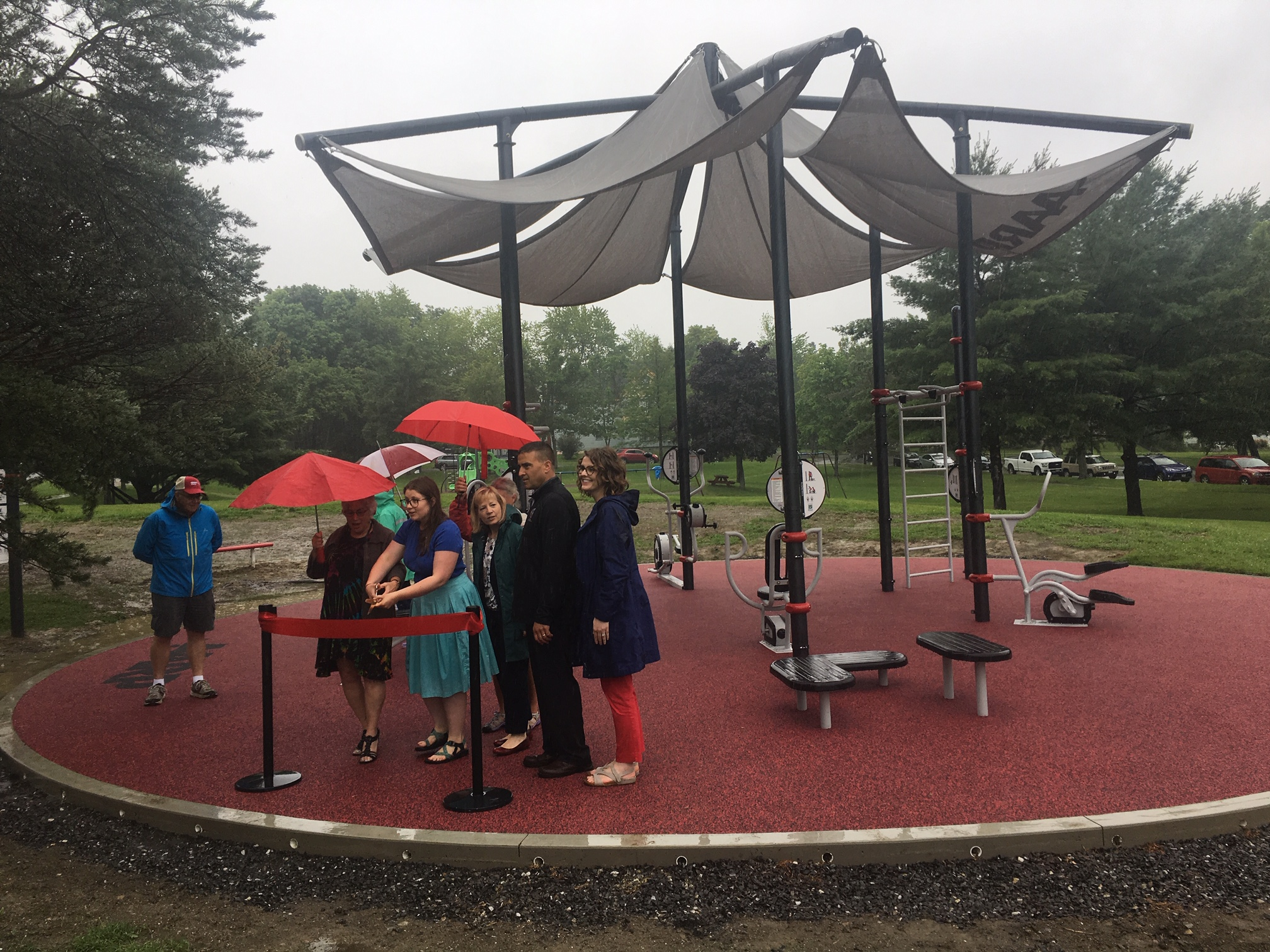 AARP Opens New Fitness Park in BANGOR to Commemorate 60th Anniversary