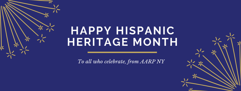 AARPNY Celebrates Hispanic Heritage Month!