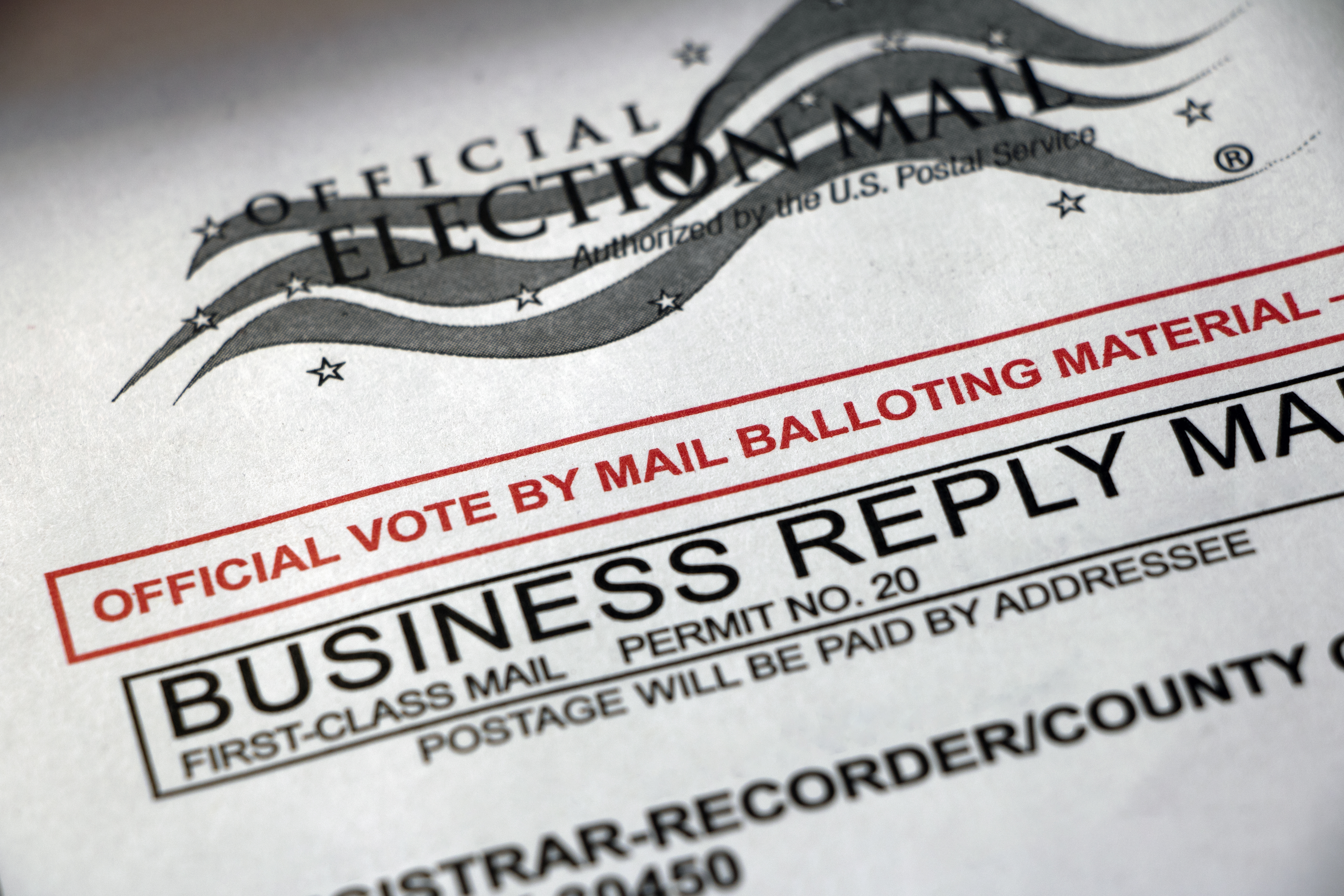 vote by mail envelope