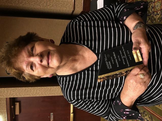 Rosalea with award.jpg