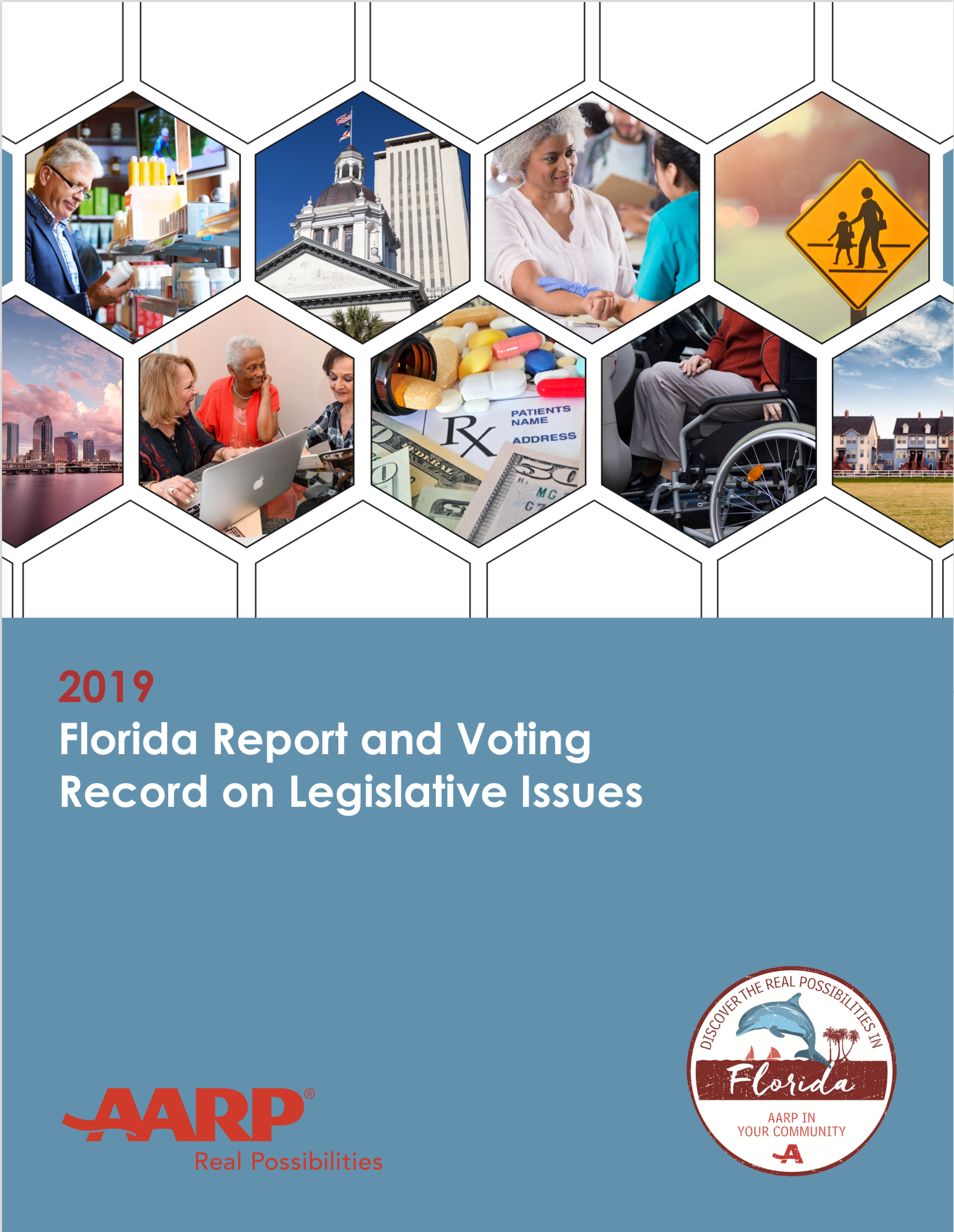 AARP Florida Issues In-Depth Voting Record on State Legislators' 2019 Votes