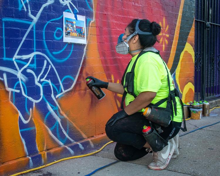 AARP's Nuevo Leon Mural Project in Chicago