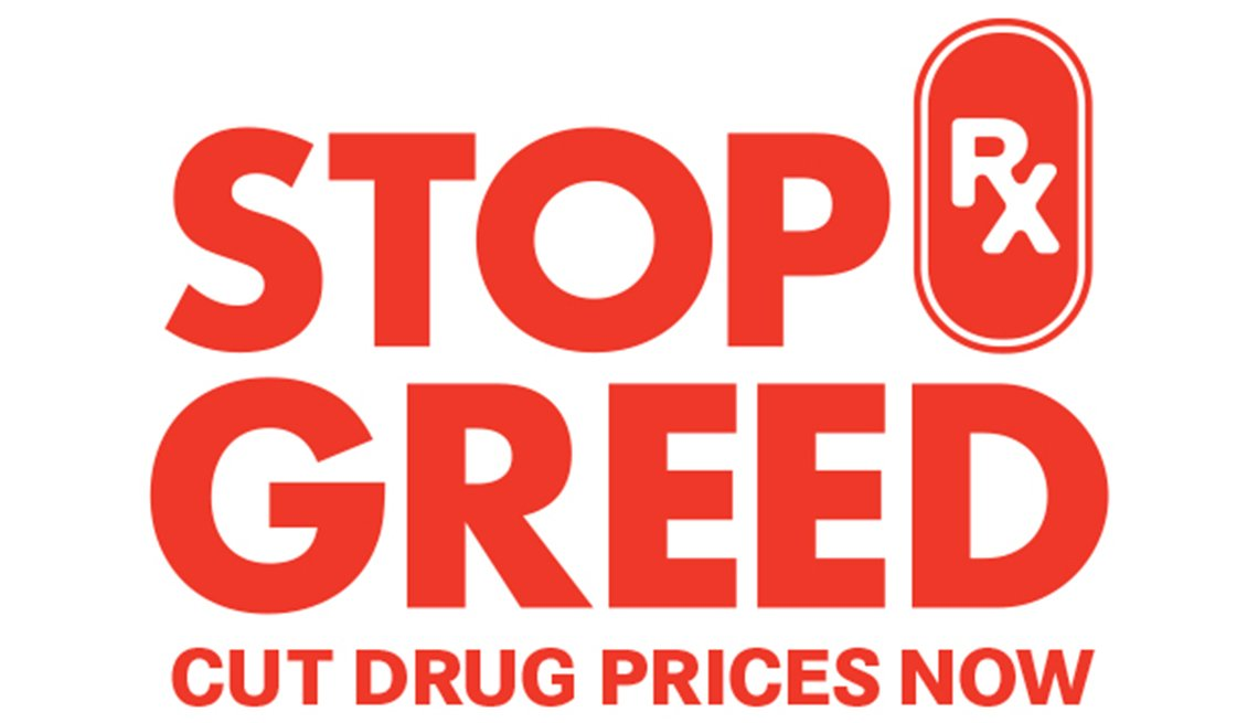 It's time to Stop Rx Greed and lower prescription drug prices!