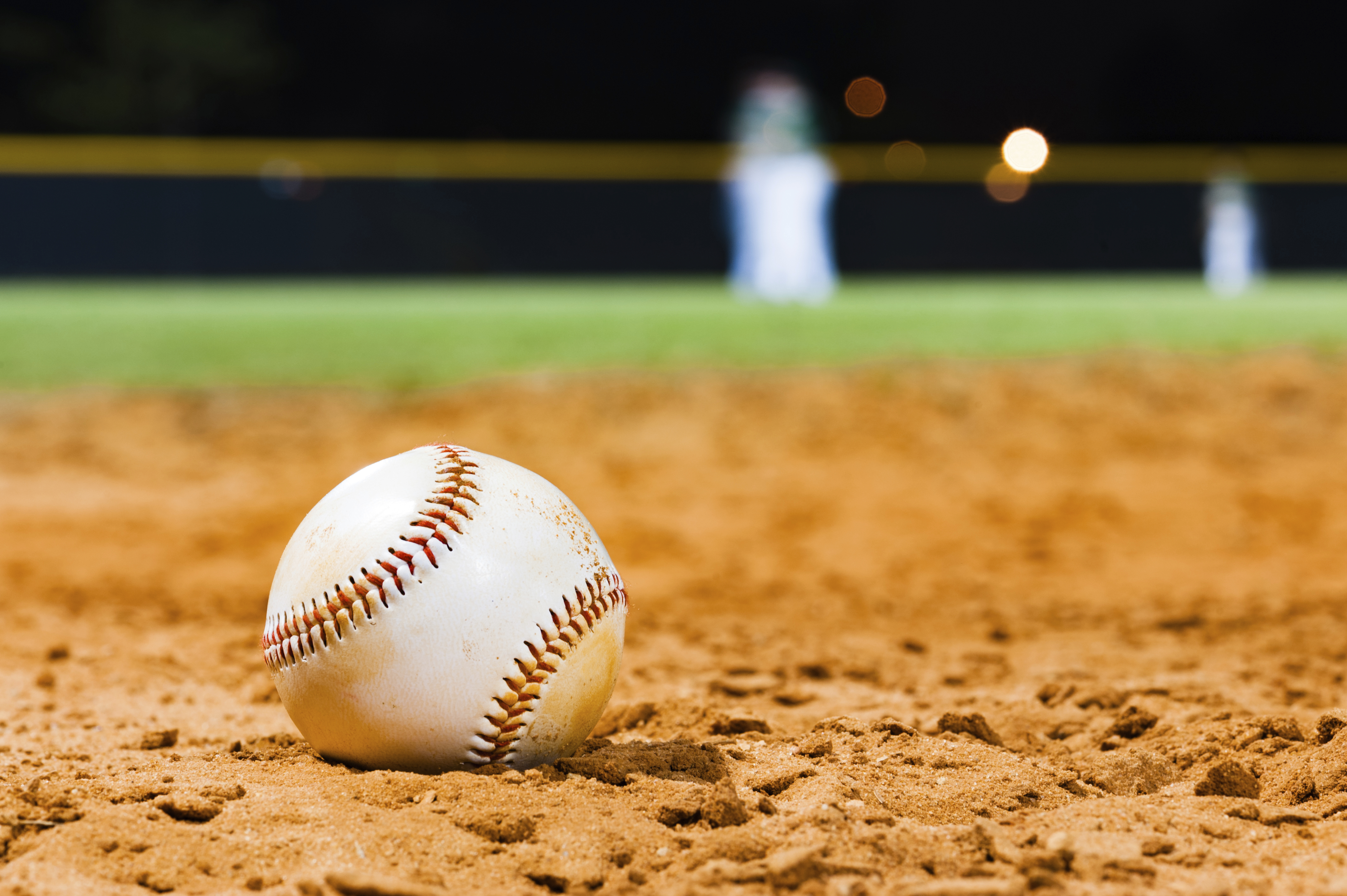 Little League Baseball Close Up with Team