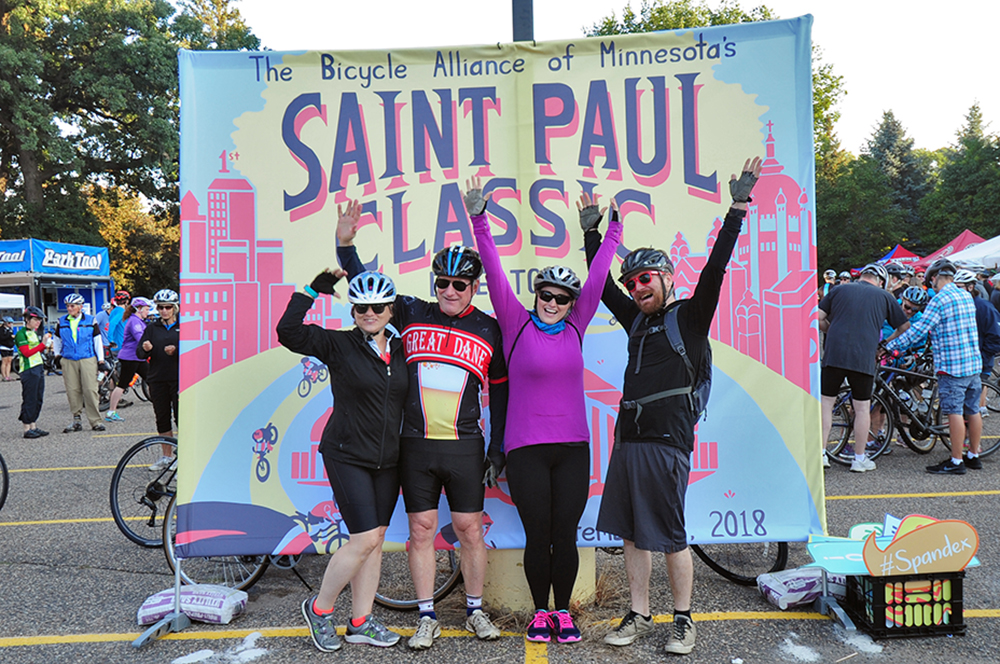 Ride in the St. Paul Classic