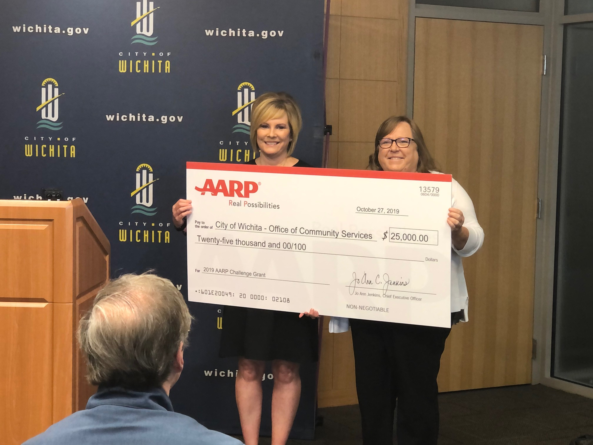 City of Wichita Receives AARP Community Challenge Grant