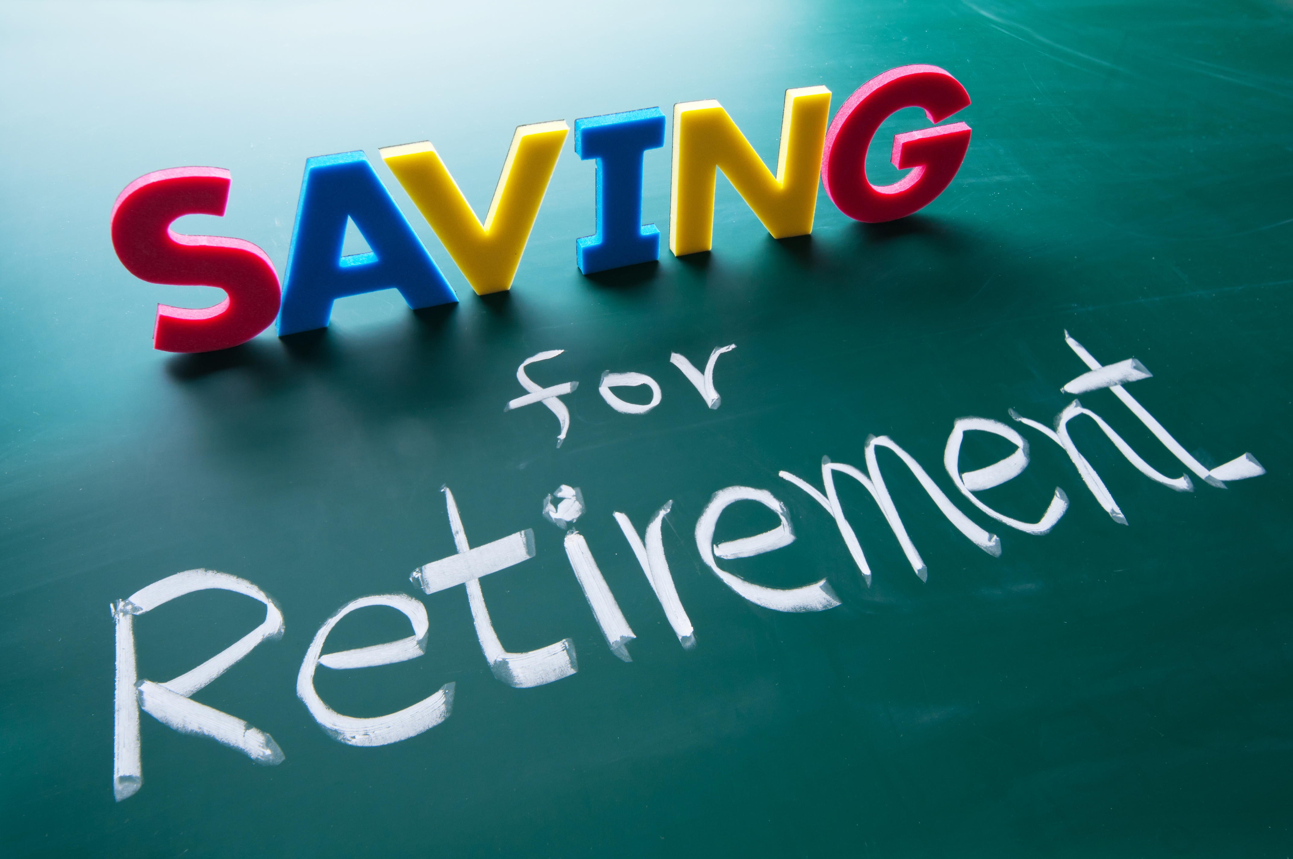 A picture of symbolizing saving for retirement