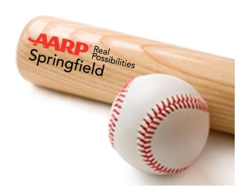 Visit the AARP booth at a Springfield Cardinals Game this Summer