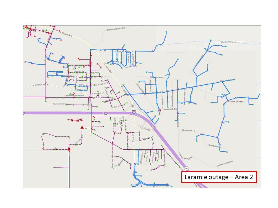 Laramie outage 3 - Rocky Mountain Power