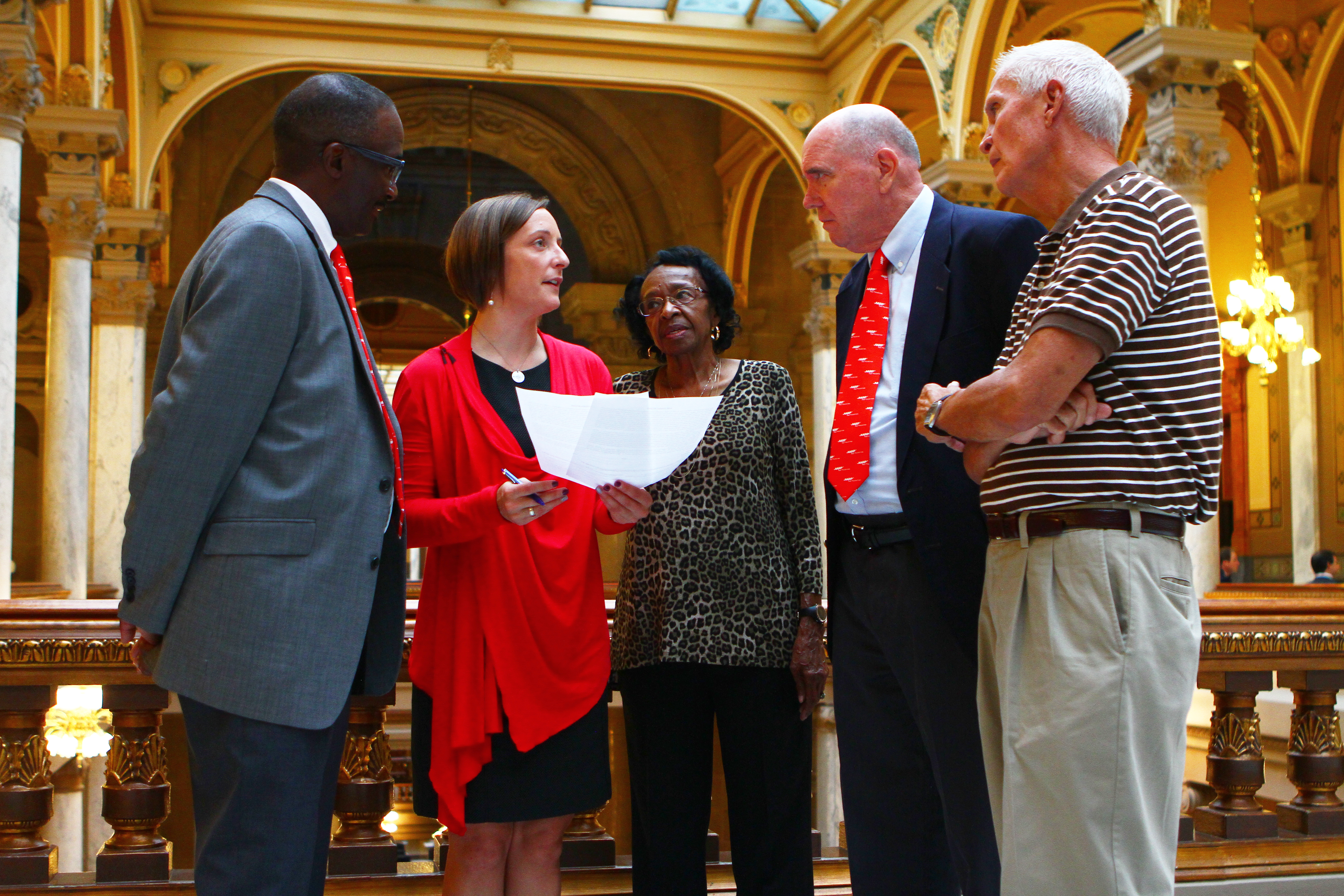 Statehouse Discussion