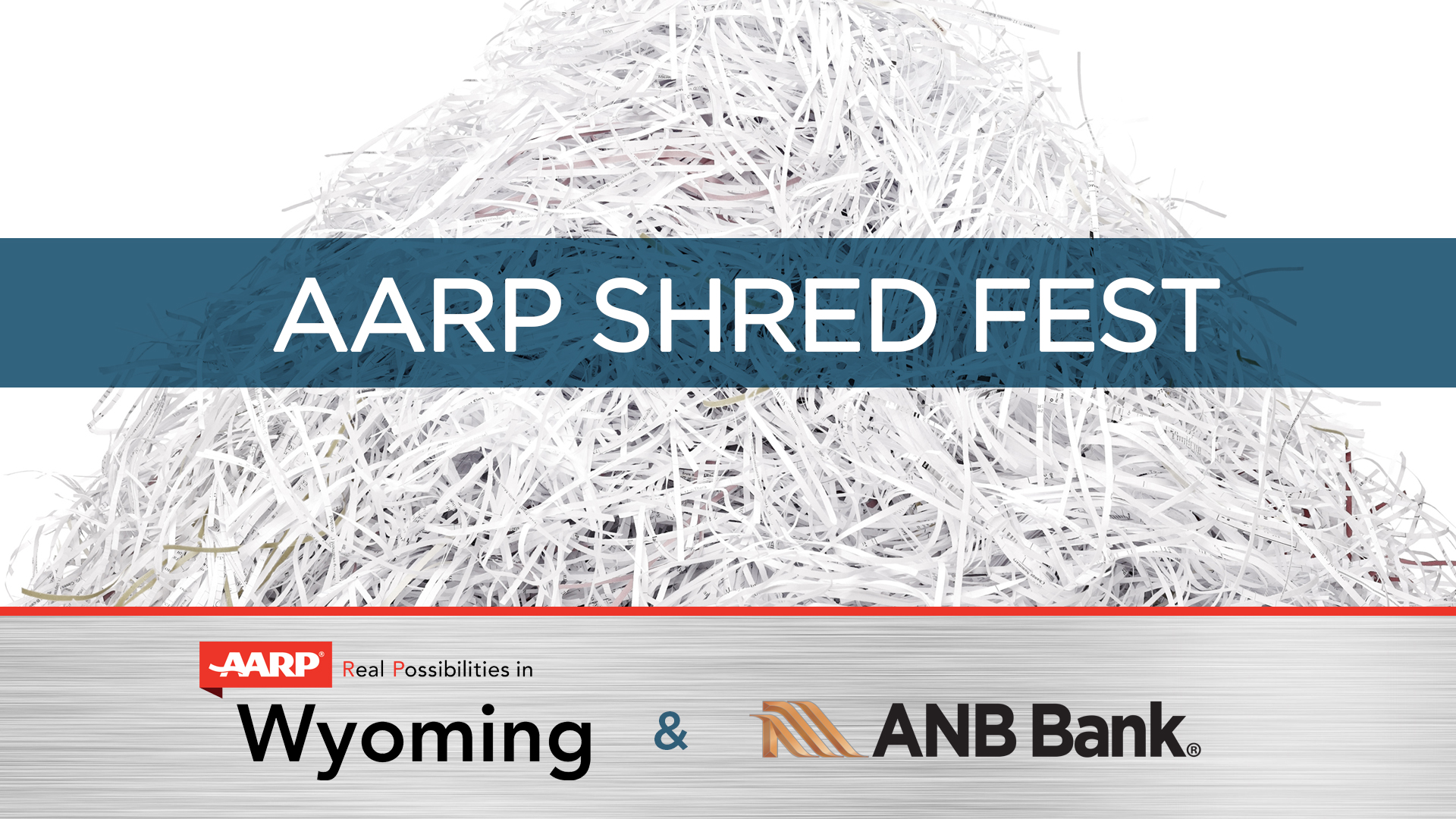 AARP Wyoming To Host ShredFest at ANB Bank
