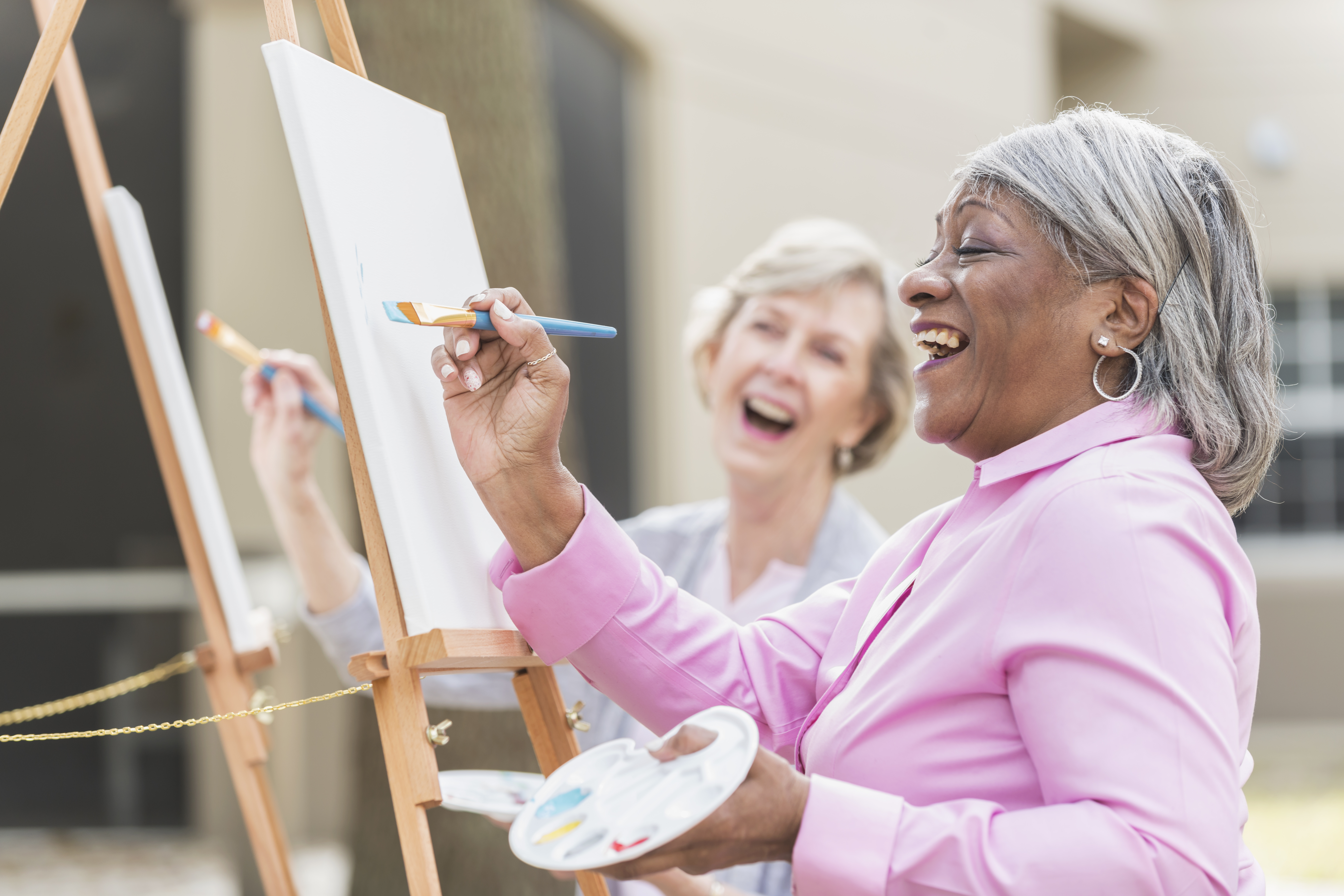 Get Creative with AARP Indiana at Joy's House