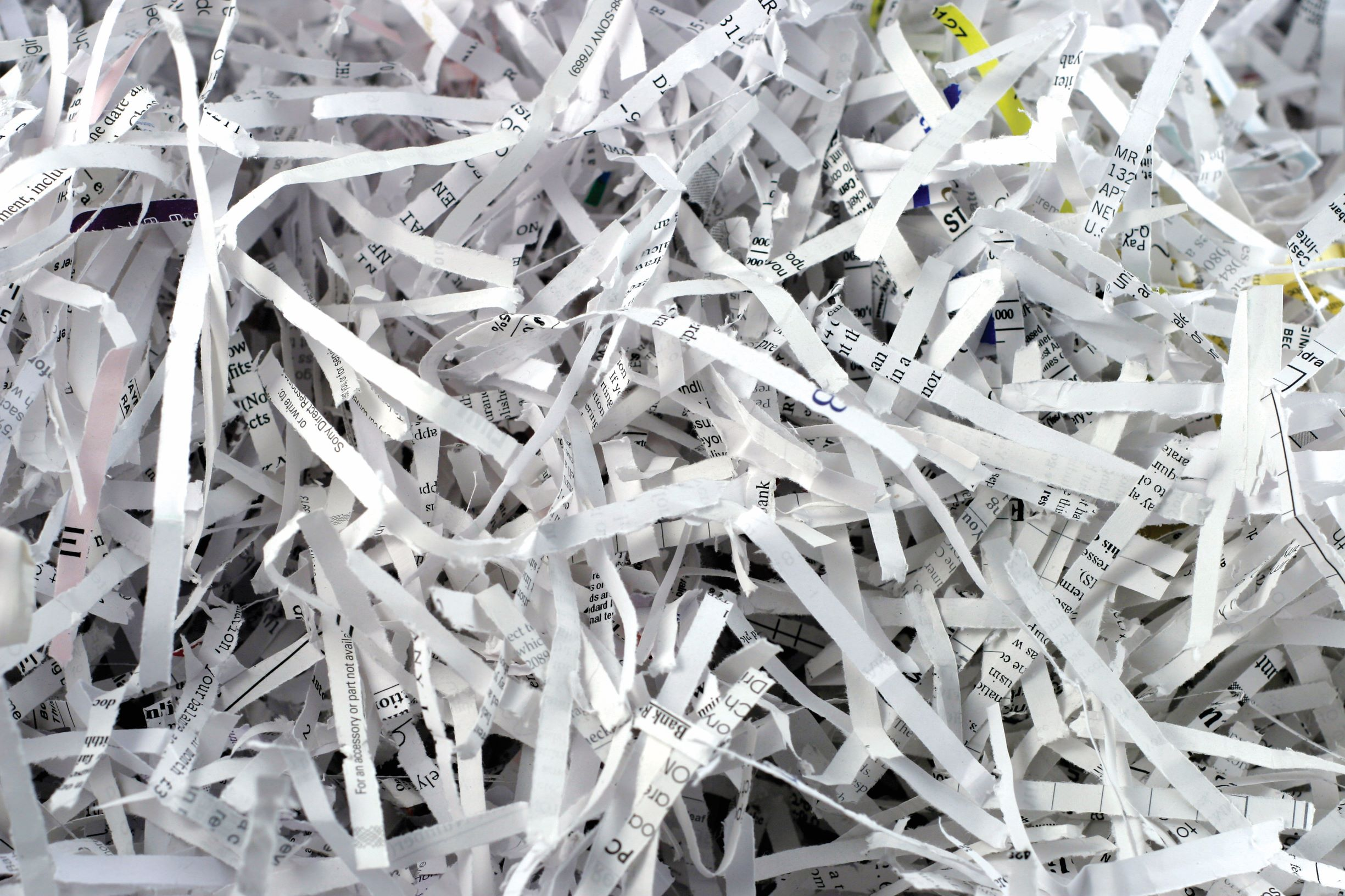 Fight Fraud— Shred Instead!
