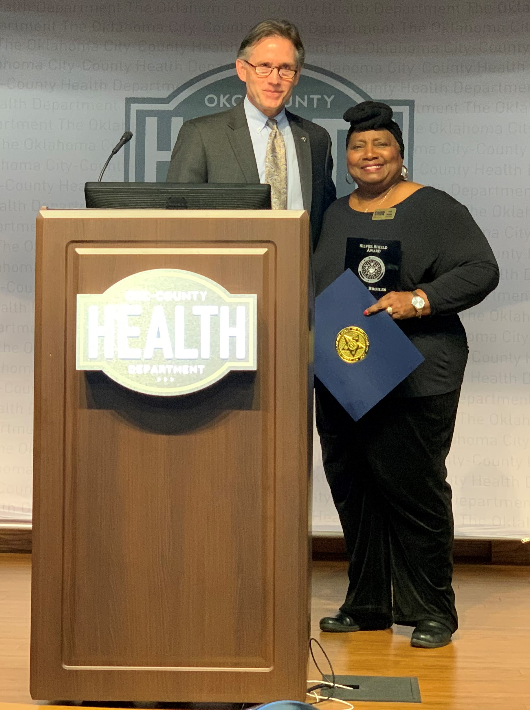 Ethel Broiles Attorney General Mike Hunter Consumer Protection Day.jpg