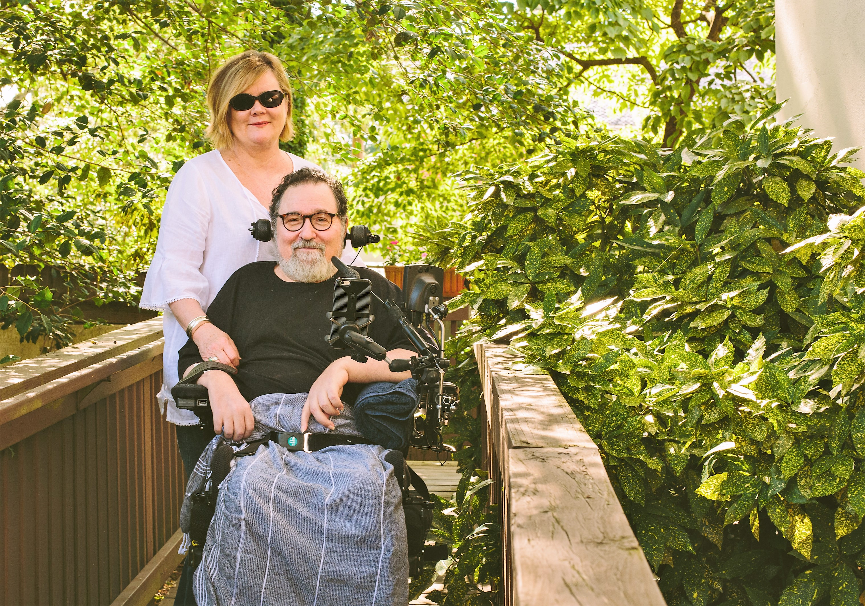 A Caregiver's Story: A loving wife caring for her husband with Multiple Sclerosis