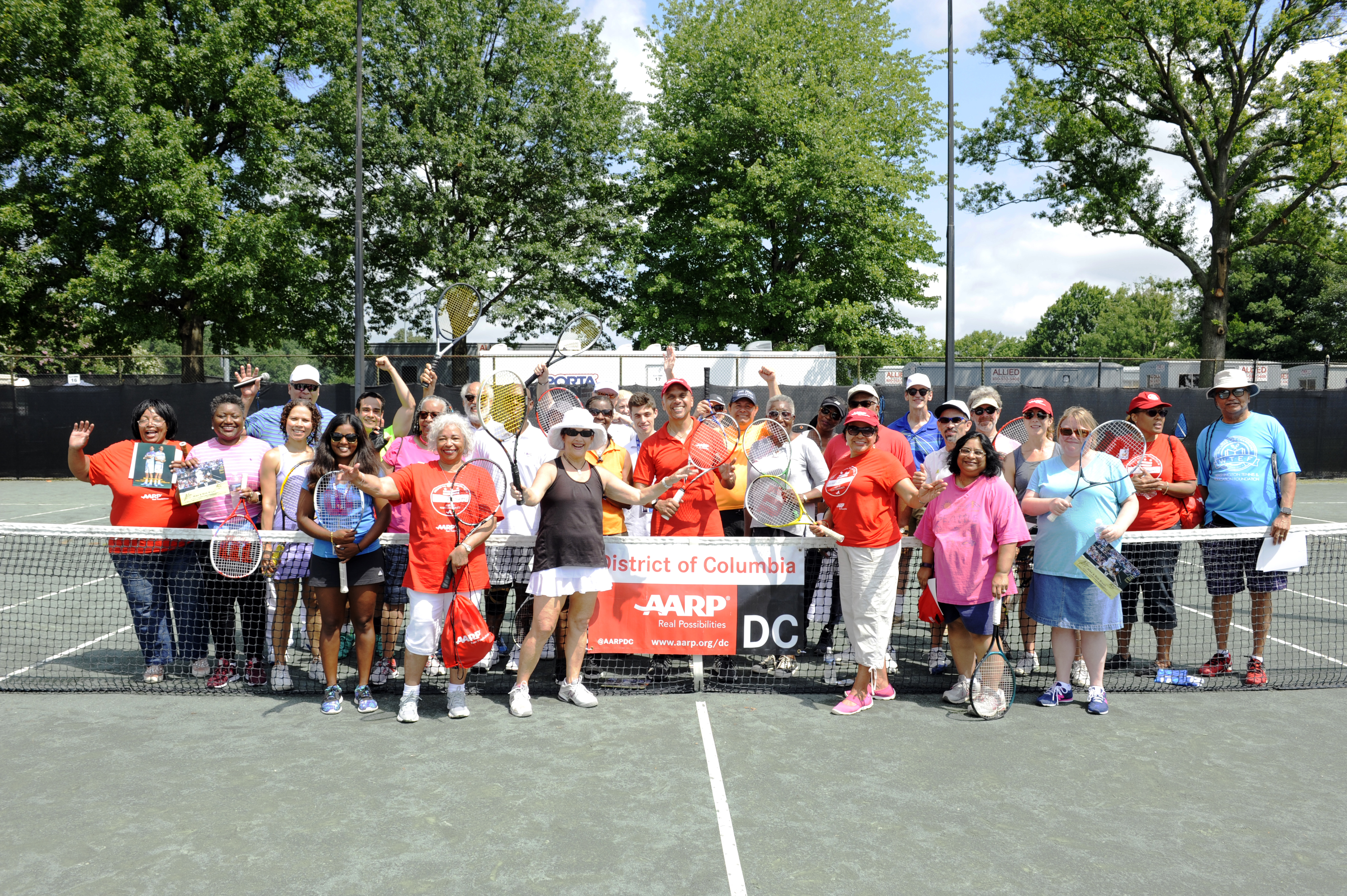 Tennis fun with AARP DC at the Citi Open