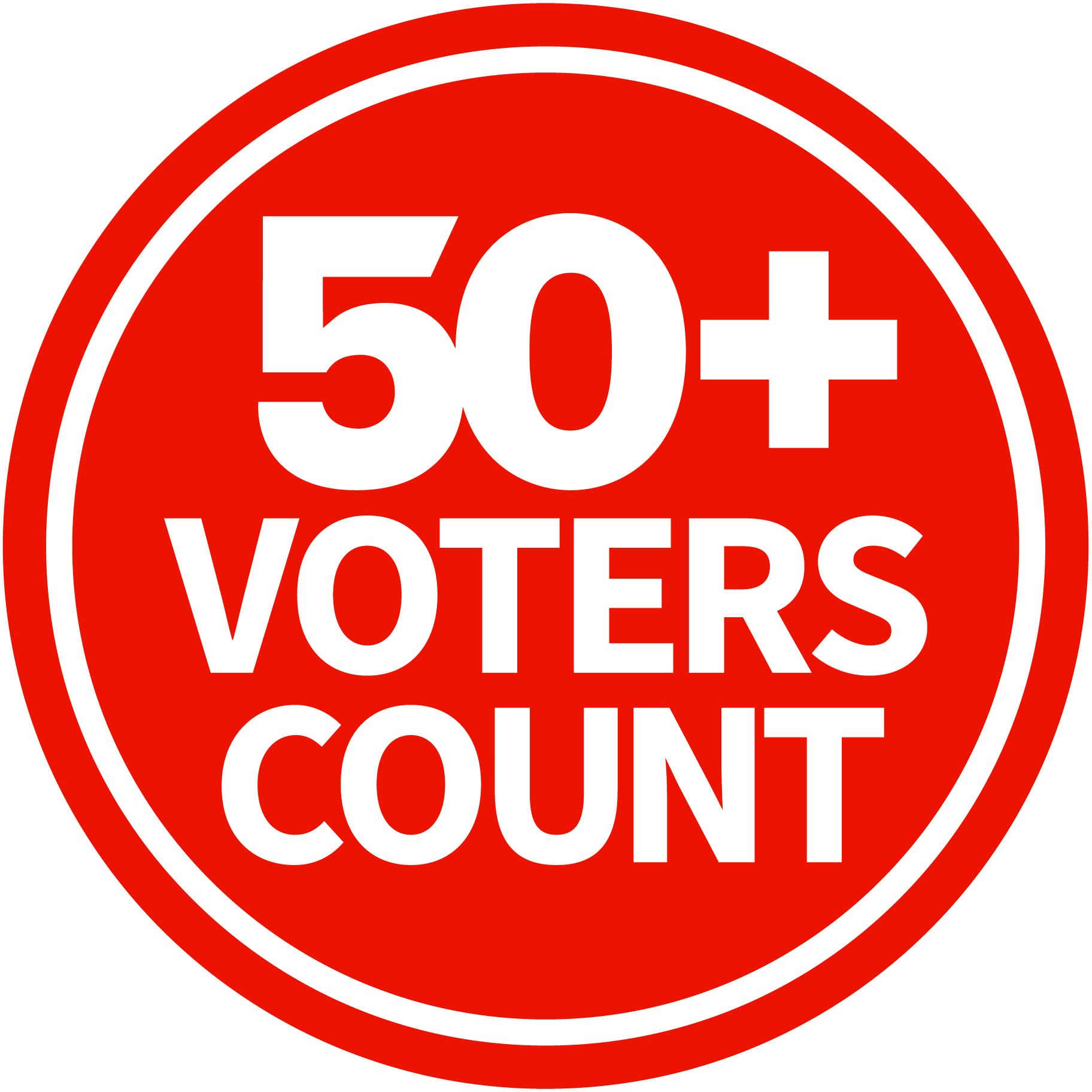 50+ Voters Count