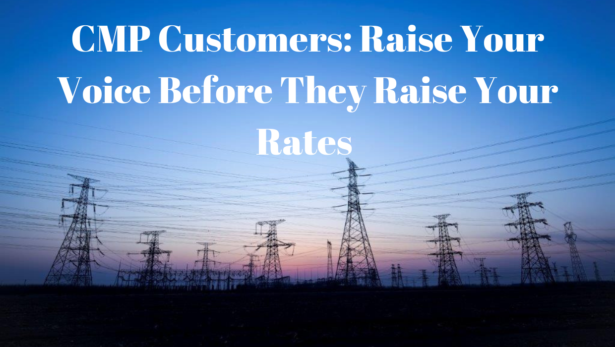 RAISE YOUR VOICE BEFORE THEY RAISE YOUR RATES: