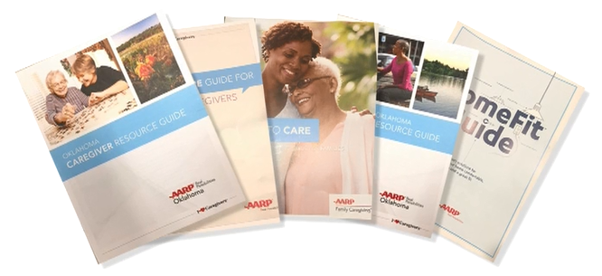 Complimentary AARP Oklahoma Family Caregiver Kits Available