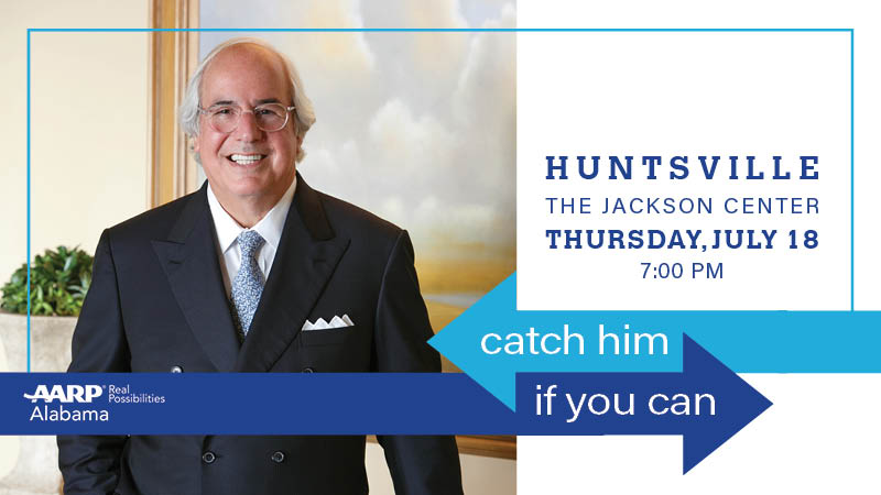 Catch Him if You Can, Huntsville: A Night with Identity Theft Expert Frank Abagnale