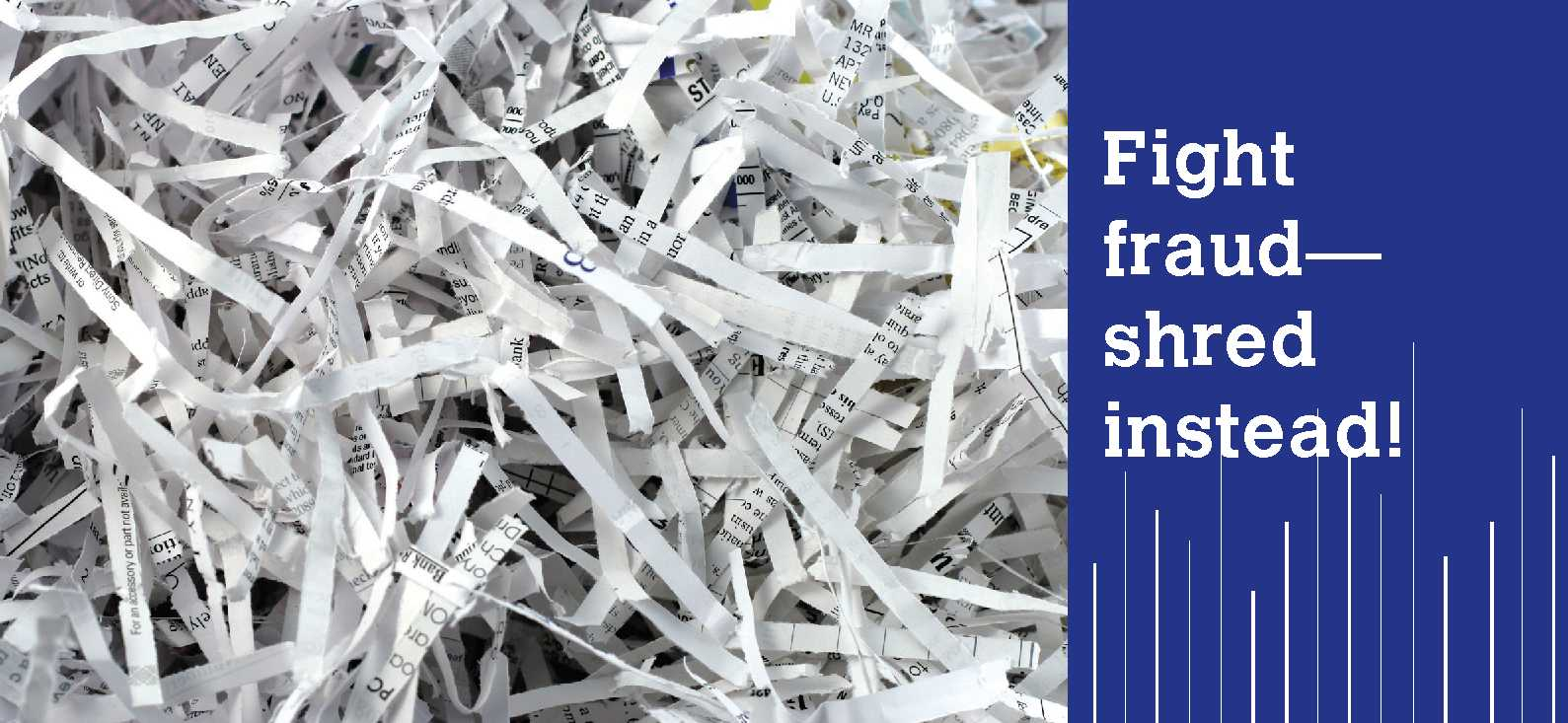 CANCELLED: Shred Personal Documents for Free Oct. 12 in Fargo