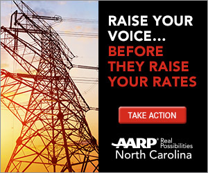 Take a pledge to help AARP NC stop bad energy bills