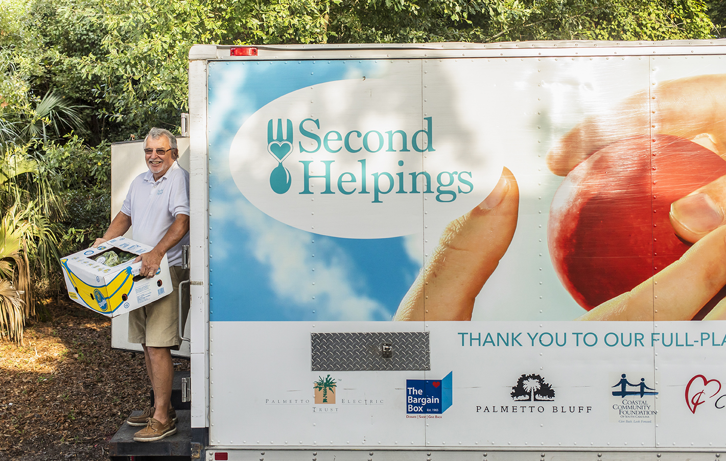 Tackling Hunger a Truckload at a Time