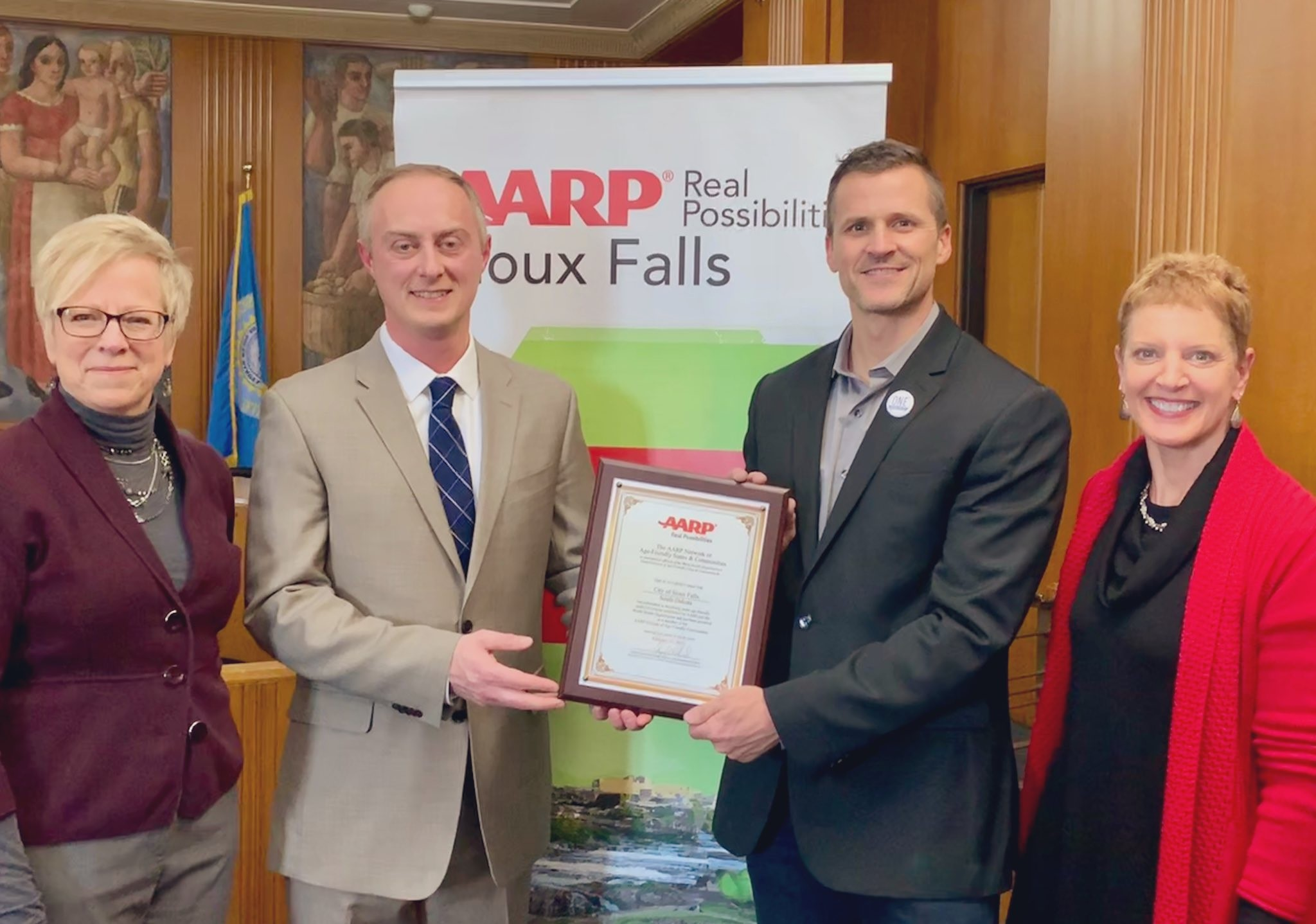 Sioux Falls is First SD Community to Join AARP Network of Age-Friendly Communities