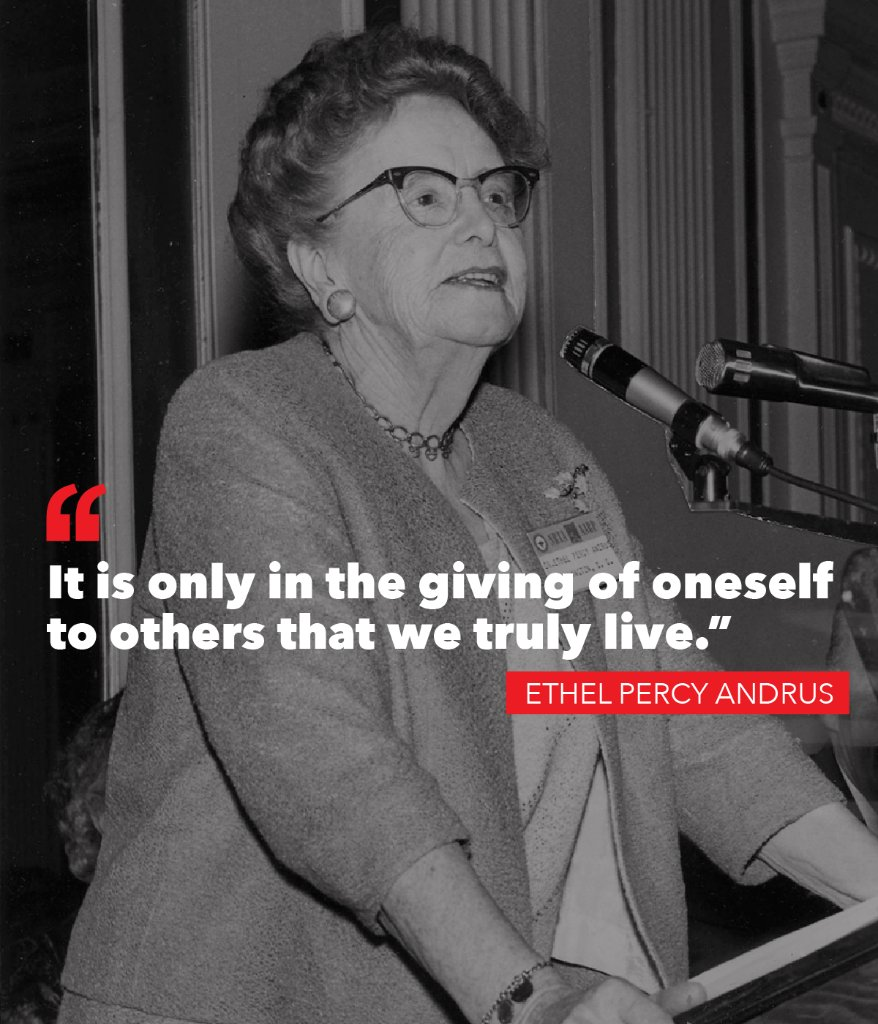 Dr Ethel Percy Andrus