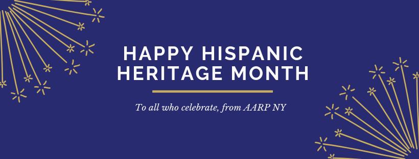 AARP NY celebra el Mes de la Herencia Hispana!
