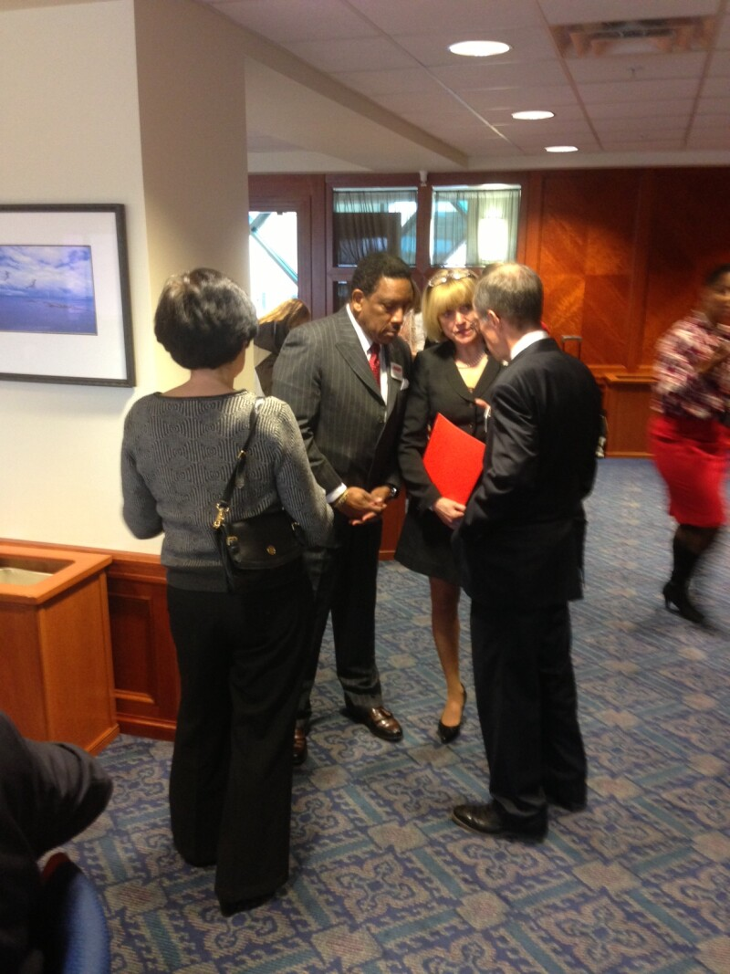 Legislative reception March 2013