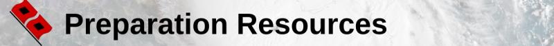 hurricane page header - preparation resources