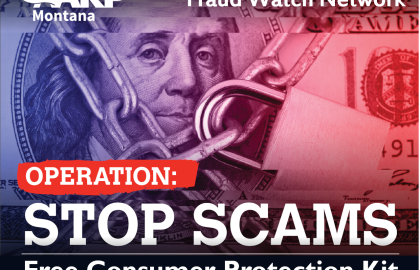 Stay One Step Ahead of the Scammers. Sign up for your free Consumer Protection Kit today!