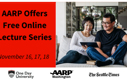 """AARP Offers """"One Day University"""" Lecture Series - Free admission for AARP members"""