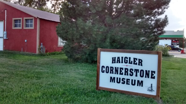 Cornerstone Museum sign.png