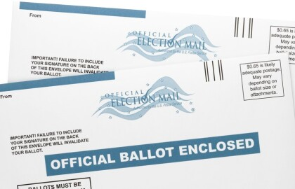 CALLING ALL MAINE VOTERS: Vote Safely. Vote from Home.