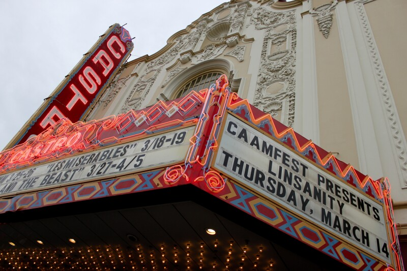 CAAMFest Marquee