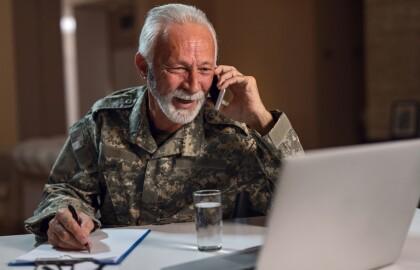 Teletown Hall to Address Veterans' Concerns, Help Identify Resources