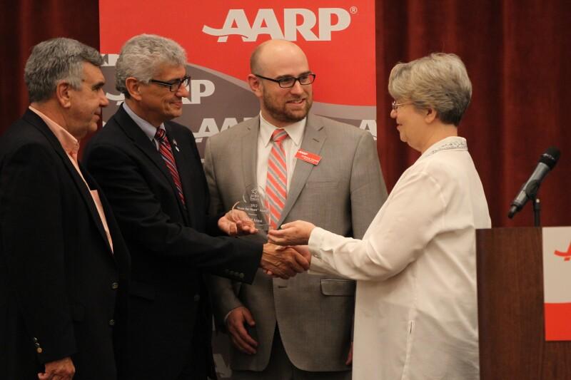Caregivers Award to AARP Iowa