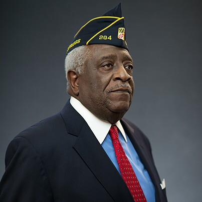 """Clarence """"Tiger"""" Davis, Vietnam veteran and AARP Maryland's current state president."""
